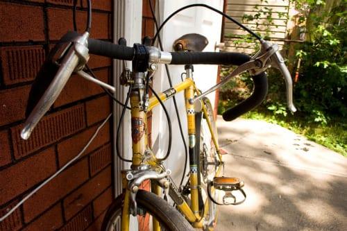 ... 自転車のハンドルの違いと調整
